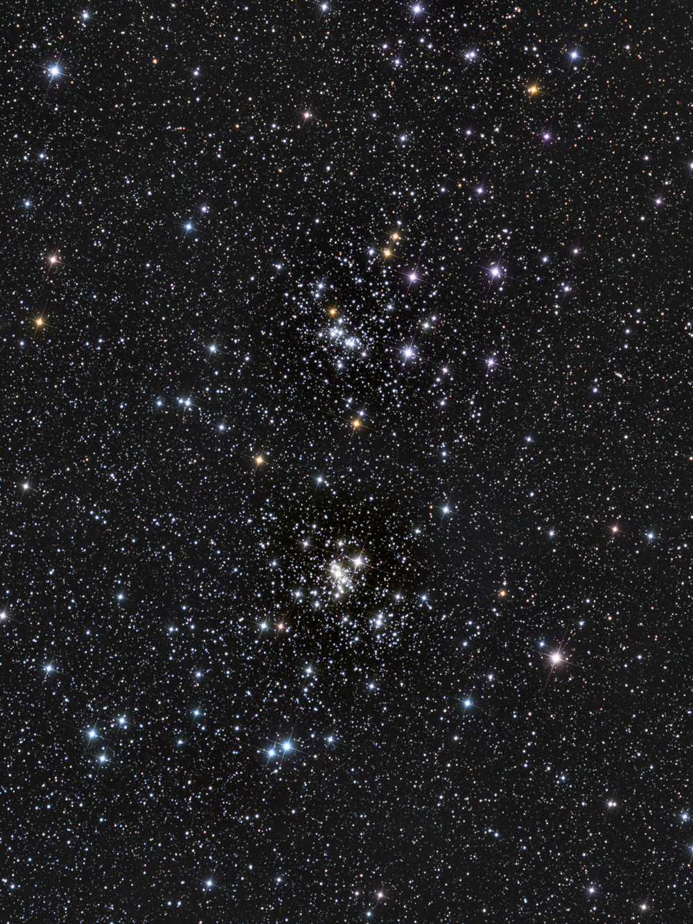 Double Open Cluster