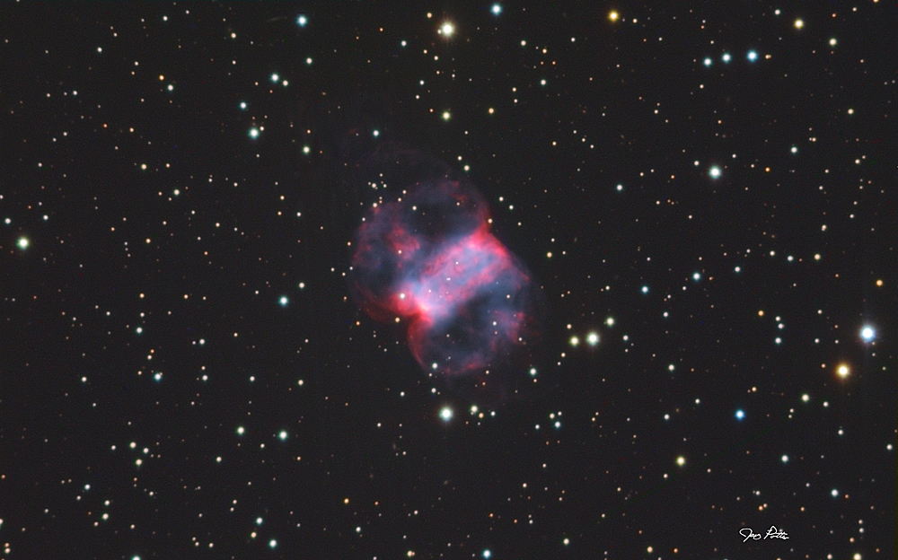 The Little Dumbell Nebula M76